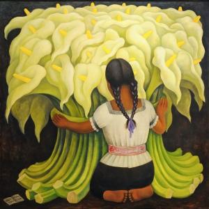 """""""The Flower vendor"""", 1941."""