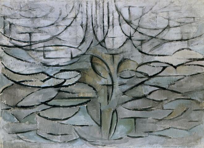 Piet Mondrian, The Flowering Apple Tree, 1912