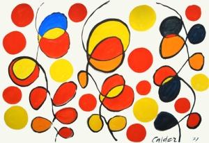 Alexander Calder, Dance of the Lollipops, 1971