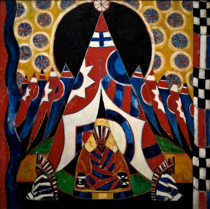 Marsden Hartley   American Indian Symbols   1914